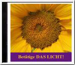 Betätige das Licht. Licht Meditationen CD Hörprobe