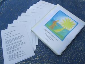 In diesem Pilgerkurs findest Du  inhaltsvolle Texte und Gebete für Deinen Pilgerweg.