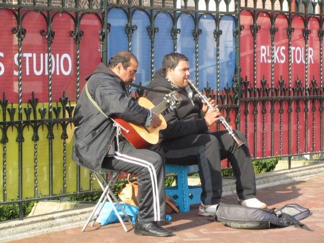 Musikanten tragen zu einer guten Stimmung bei!